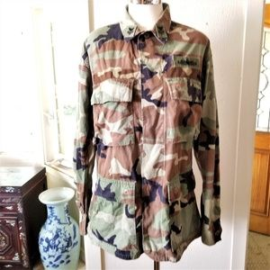 Other - Military Camouflage Field Jacket S